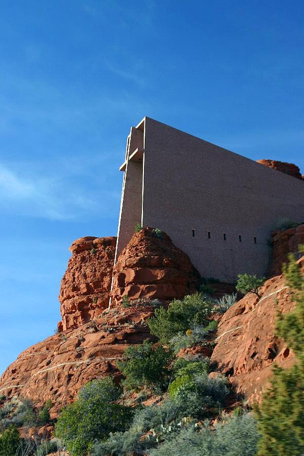 Часовня Chapel In The Rock в Аризоне