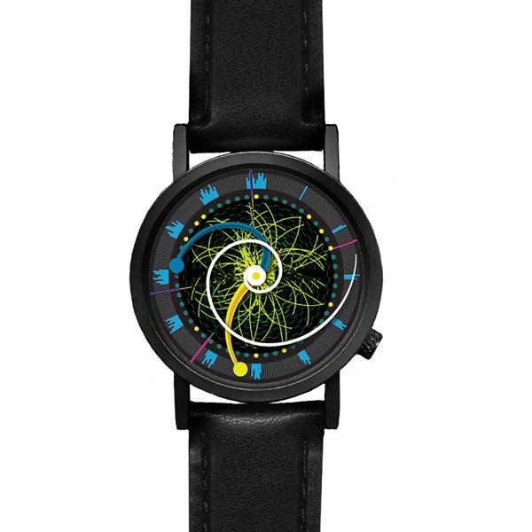 Часы для любителей физики Higgs Boson Watch
