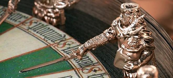 Рыцари Круглого стола на часах Excalibur Table Ronde (5 фото)