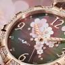 Цветы в дизайне наручных часов (23 фото)