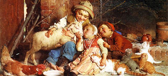 Гаэтано Чиерици и его картины крестьянской жизни (9 фото)