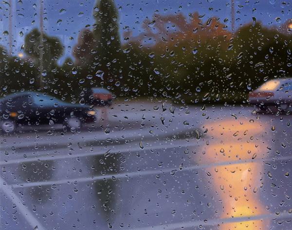 Грегори Тилкер и его дождливые картины