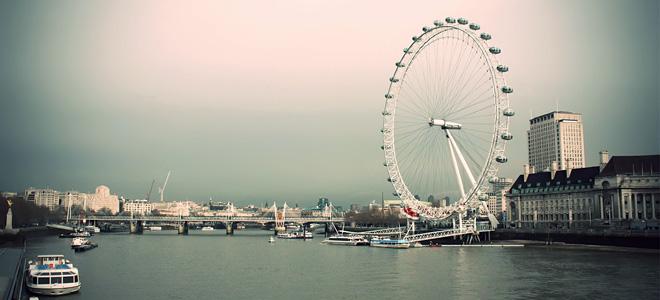 Знаменитое колесо обозрения «Лондонский глаз» (11 фото)