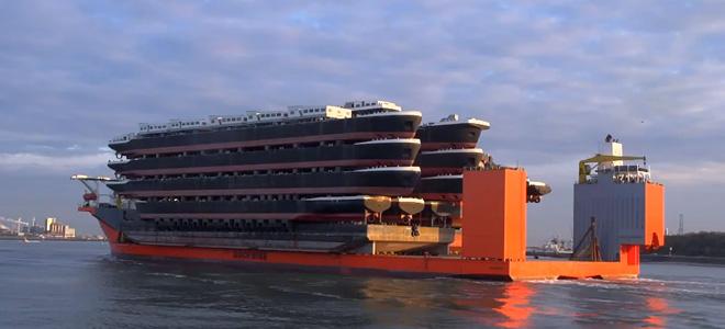 Корабль Blue Marlin — гигантский помощник (9 фото)