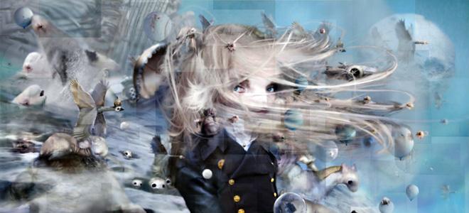 Крис Беренс и его фантастические миры (23 фото)