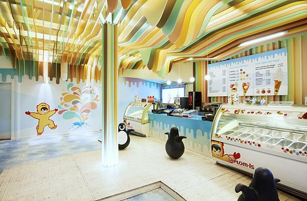 Магазин Замок мороженого в Норвегии (3)