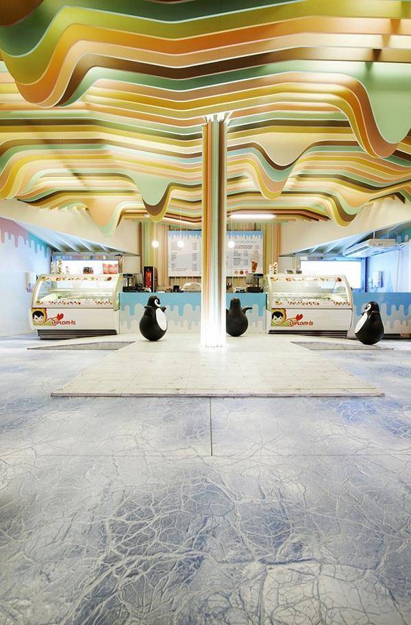 Магазин Замок мороженого в Норвегии (2)