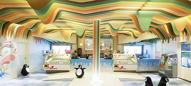 Магазин «Замок мороженого» в Норвегии (7 фото)