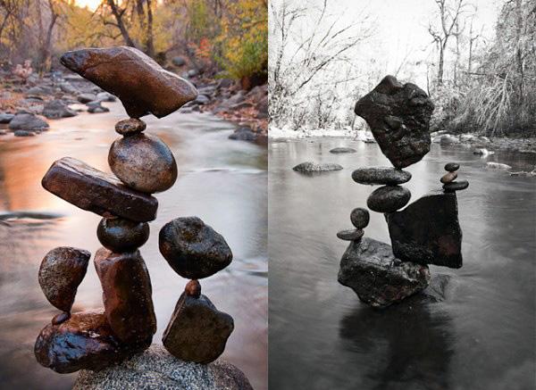 Майкл Граб и его балансирующие камни