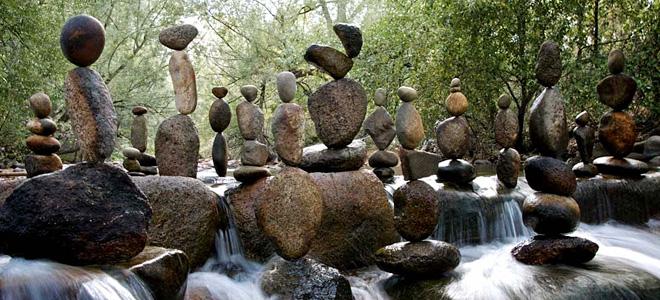Майкл Граб и его балансирующие камни (11 фото)