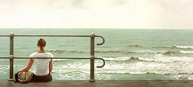 Марк Ван Кромбрюгге и его фотореалистичные картины (13 фото)