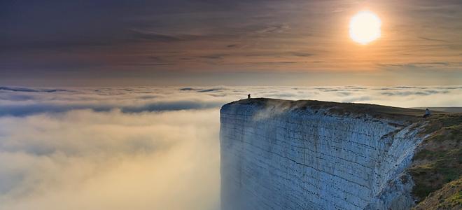 Мыс Бичи-Хед — скала самоубийц в Англии (7 фото)