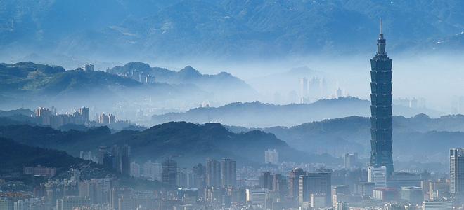Небоскреб Тайбэй 101 — гордость Тайваня (11 фото)