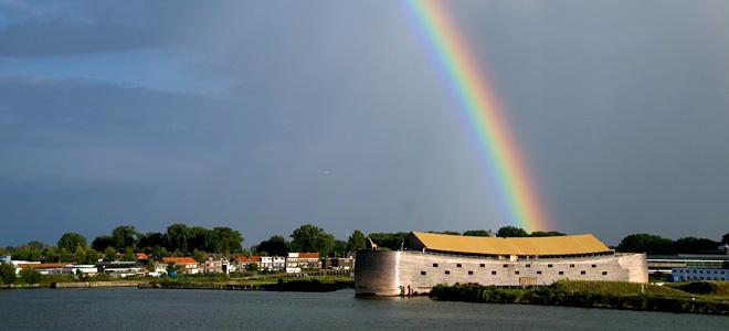 Ноев ковчег в натуральную величину (9 фото)