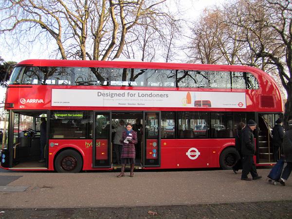 Новый лондонский даблдекер