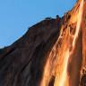 Огненный водопад Лошадиный хвост (7 фото)