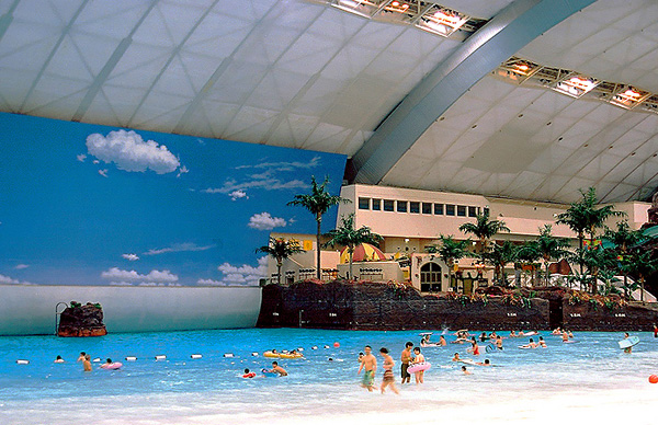 Самый большой аквапарк в мире