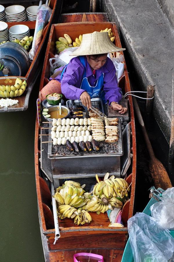 Рынок Дамноен Садуак в Бангкоке (4)