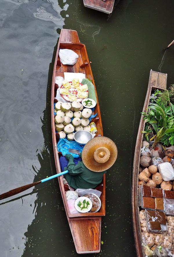Рынок Дамноен Садуак в Бангкоке (3)