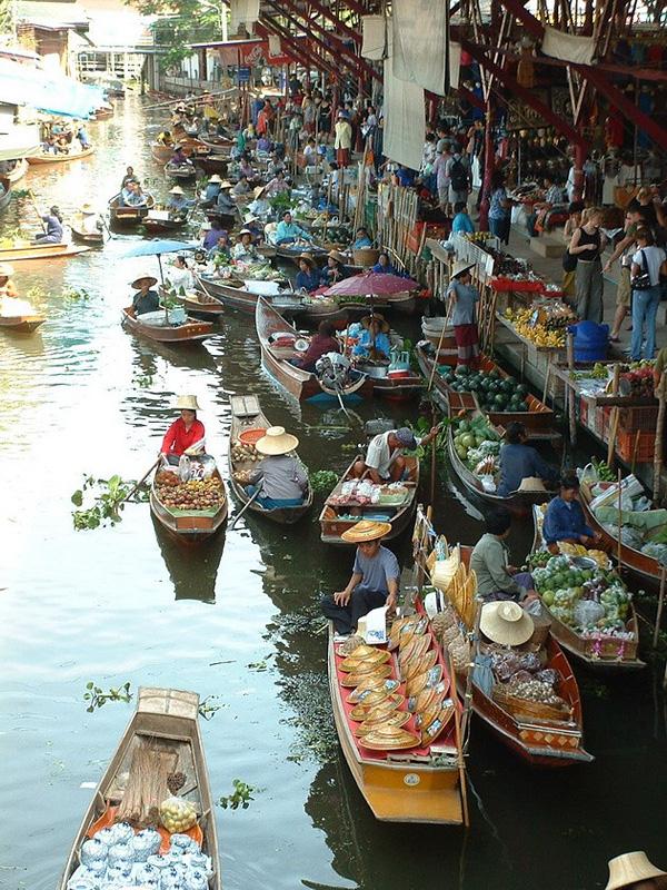 Рынок Дамноен Садуак в Бангкоке (12)