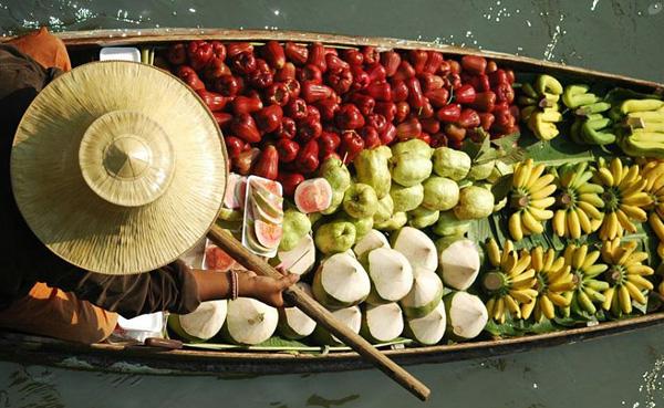 Рынок Дамноен Садуак в Бангкоке (9)