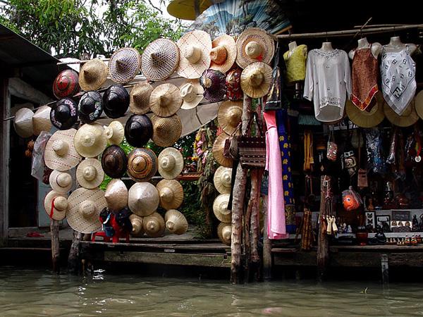 Рынок Дамноен Садуак в Бангкоке (8)