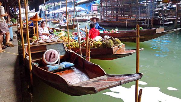 Рынок Дамноен Садуак в Бангкоке (7)