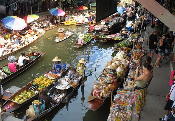 Рынок Дамноен Садуак в Бангкоке (6)