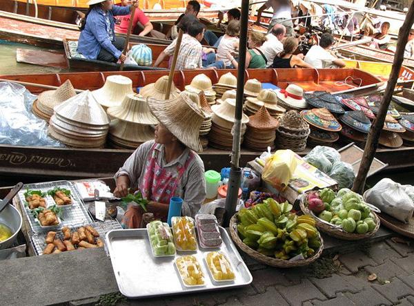 Рынок Дамноен Садуак в Бангкоке (5)