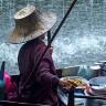 Рынок Дамноен Садуак в Бангкоке