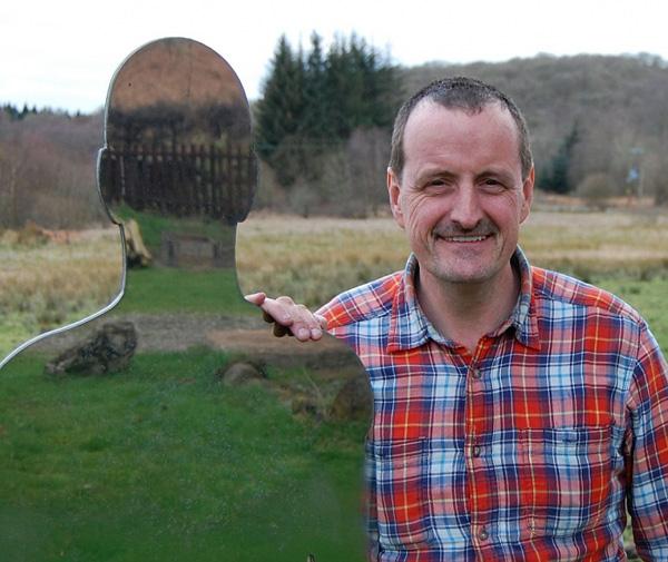 Роб Малхолланд и его призрачные скульптуры