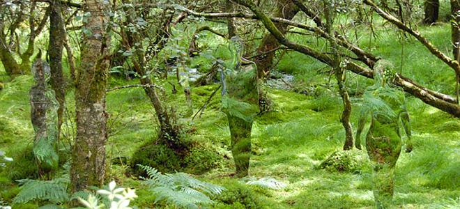 Роб Малхолланд и его призрачные скульптуры (5 фото)