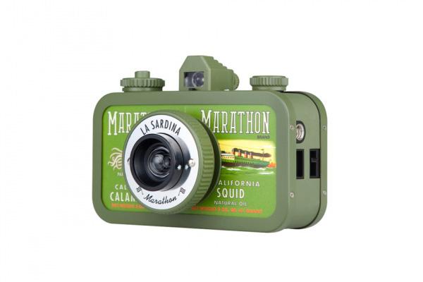 Линейка позитивных ломо фотоаппаратов La Sardina