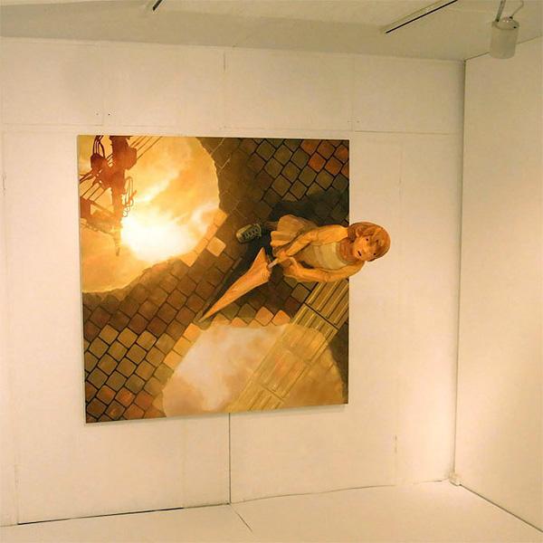 Шинтаро Охата и его объемные картины