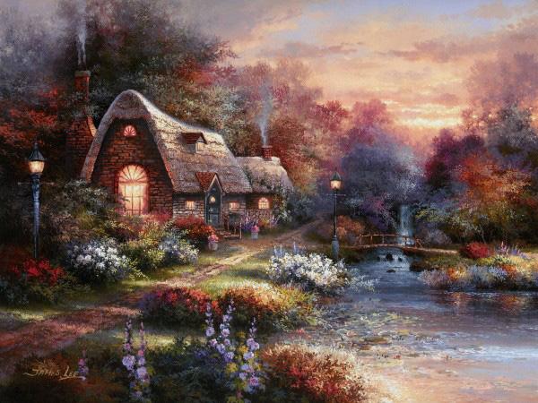 Сказочная живопись Джеймса Ли