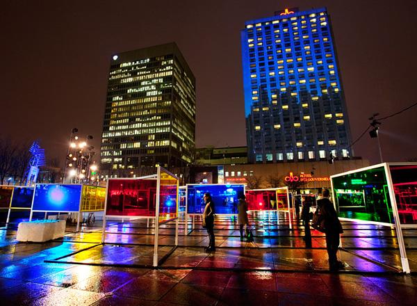 Витражный парк Stained Glass Park в Монреале