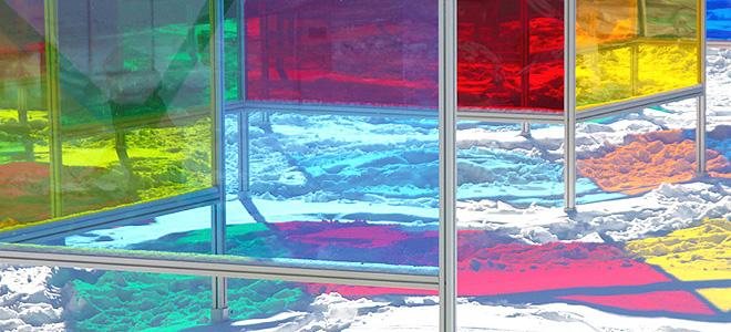 Витражный парк Stained Glass Park в Монреале (5 фото)