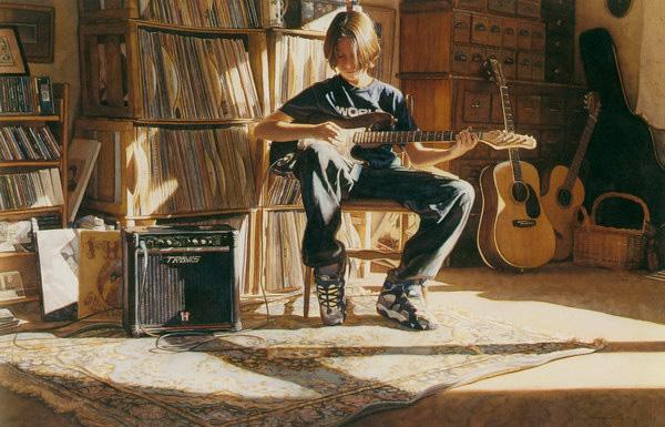 Стив Хэнкс - лучший художник-акварелист (33)