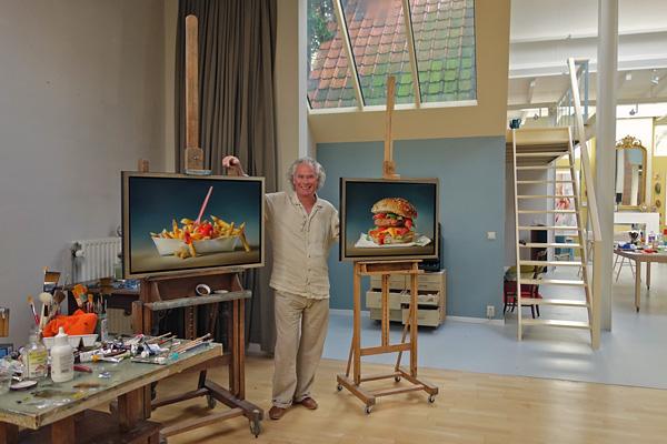 Тжальф Спарнаай и мегареализм его картин (16)