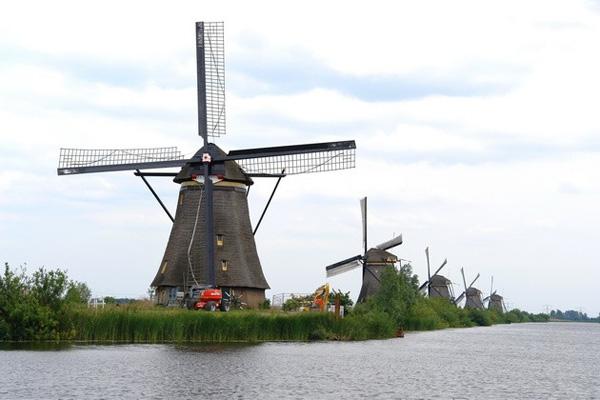 Ветряные мельницы деревни Киндердейк