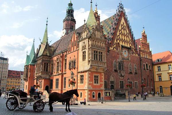 Город гномов Вроцлав в Польше