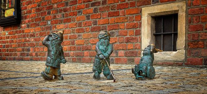 Вроцлав — город гномов в Польше (27 фото)