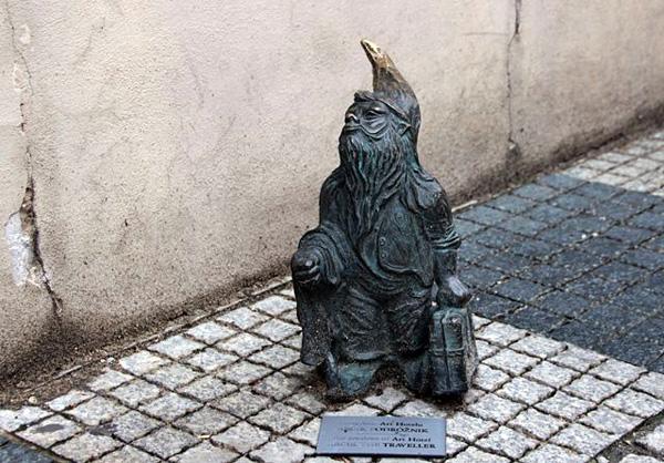Город гномов Вроцлав в Польше (23)
