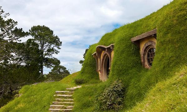Деревня Хоббитон в Новой Зеландии
