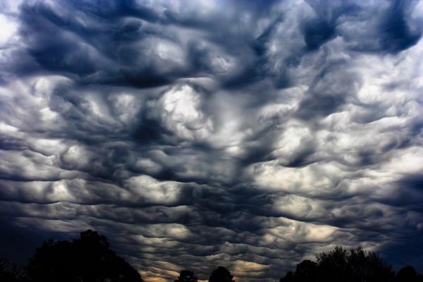 Красивые и зловещие облака Асператус