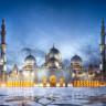 Белая мечеть шейха Зайда в ОАЭ (11 фото)