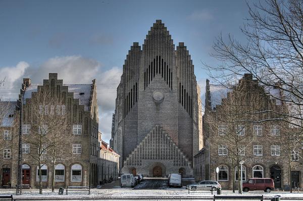 Церковь Грундтвига в Копенгагене (6)