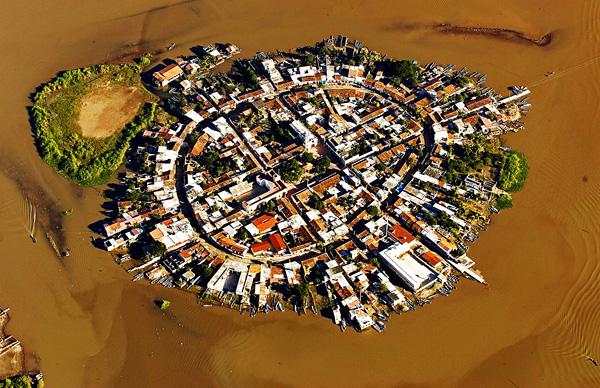 Город-остров Мескальтитан в Мексике  (2)