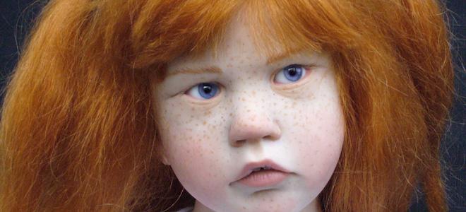 Лоуренс Руэ и ее фарфоровые куклы (9 фото)