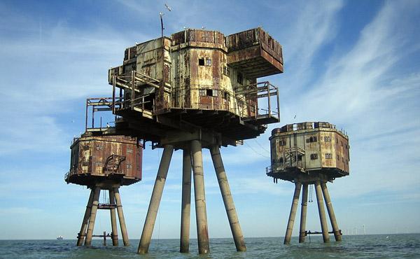 Заброшенные морские форты Маунселла